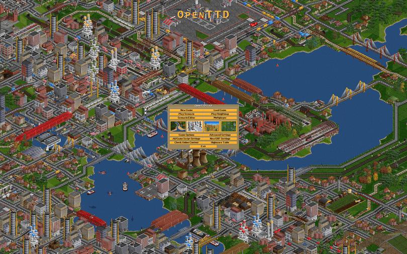 OpenTTD screenshot (810 pix)