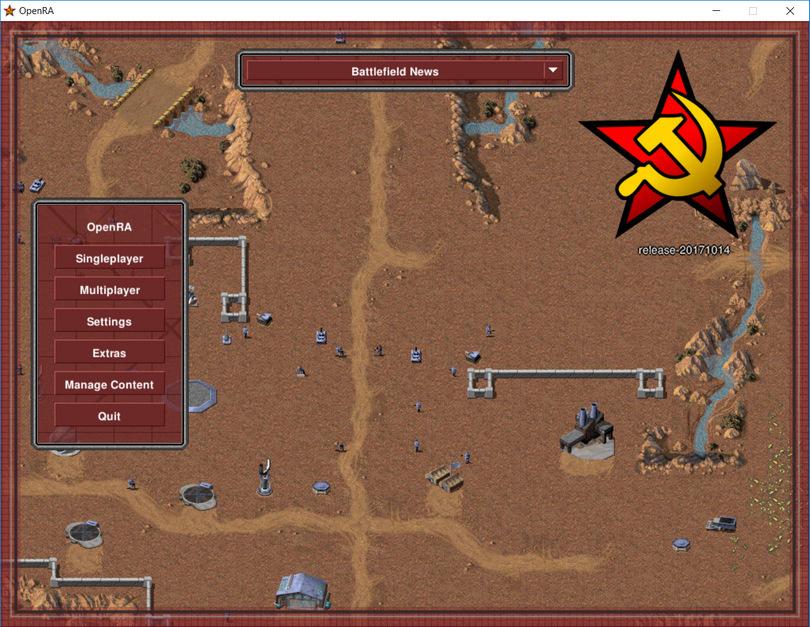 OpenRA screenshot (810 pix)