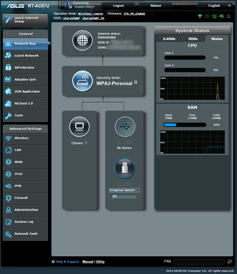 Asuswrt-Merlin screenshot (810 pix)