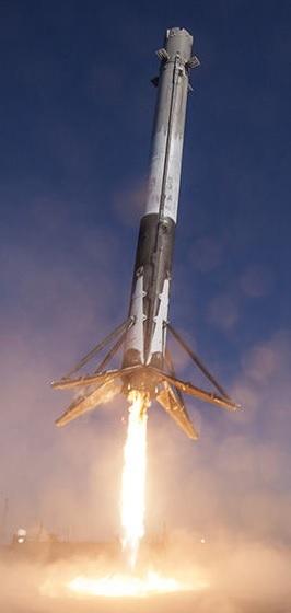 Falcon 9 trap schip