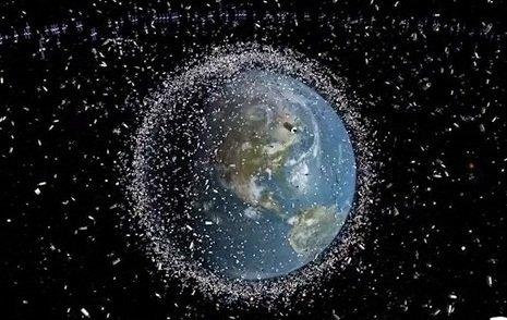 Ruimteafval aarde