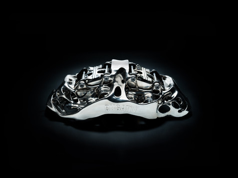 Bugatti titanium remklauw