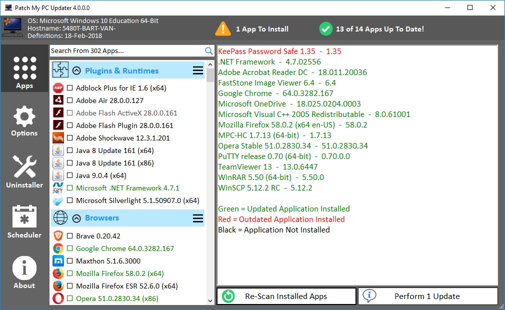 Patch My PC 4.0 screenshot (620 pix)