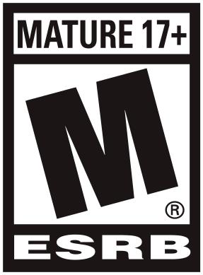 Mature rating label