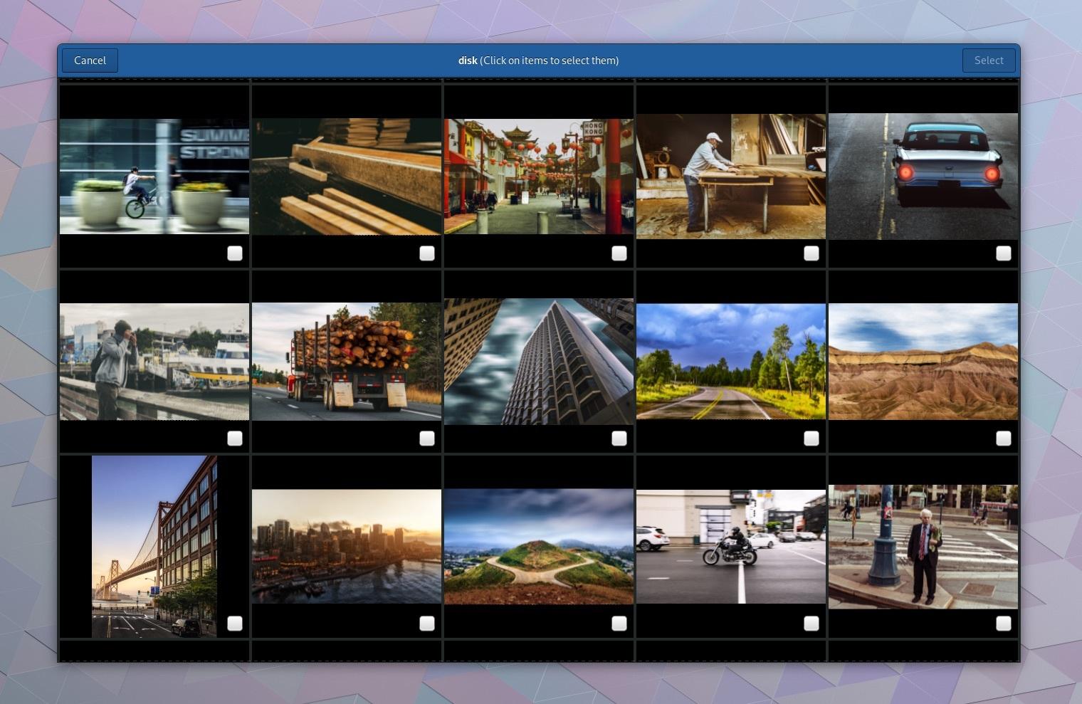 De nieuwe photo app in Gnome 3.28 (620 pix)