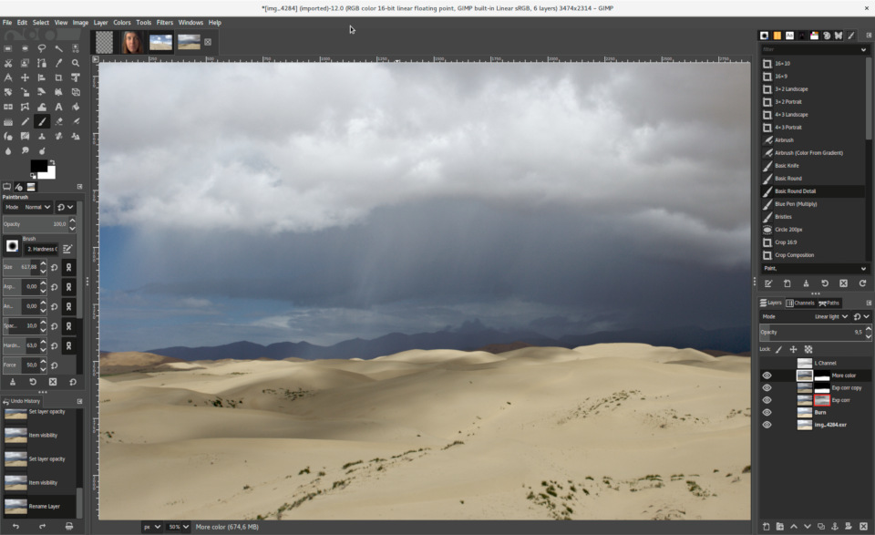 GIMP 2.10 screenshot (620 pix)