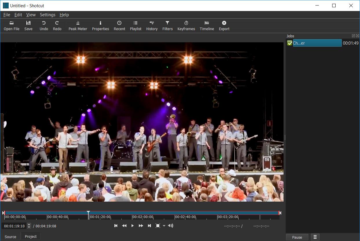 Shotcut screenshot (620 pix)