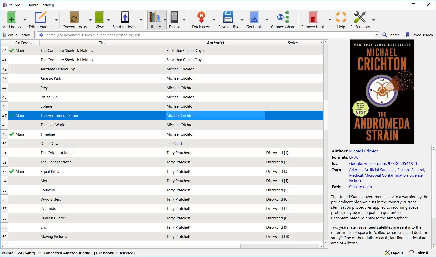 Calibre 3.24 screenshot (620pix)