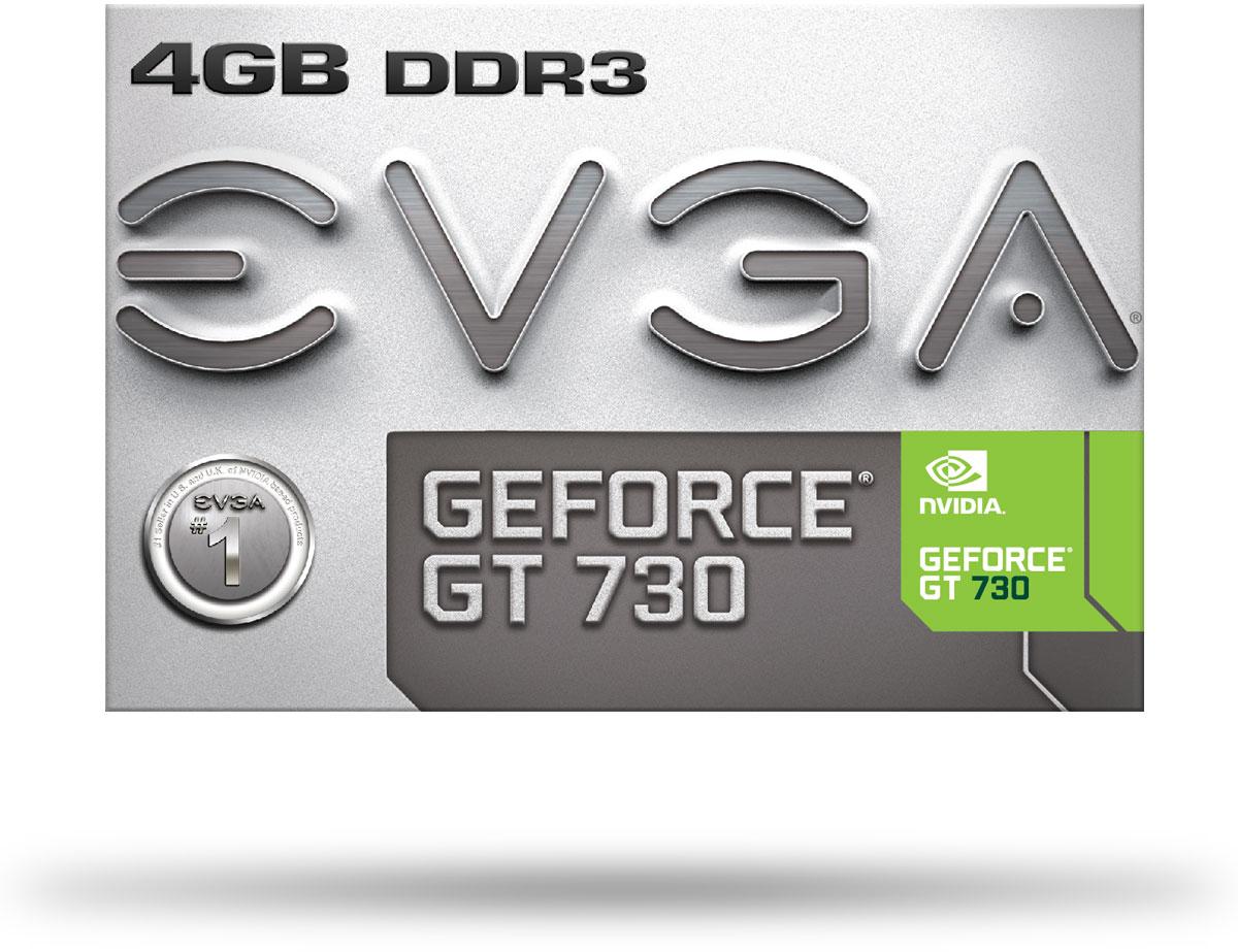 DVI /& HDMI EVGA Geforce GT 730 4GB Graphics Card 04G-P3-2739-KR