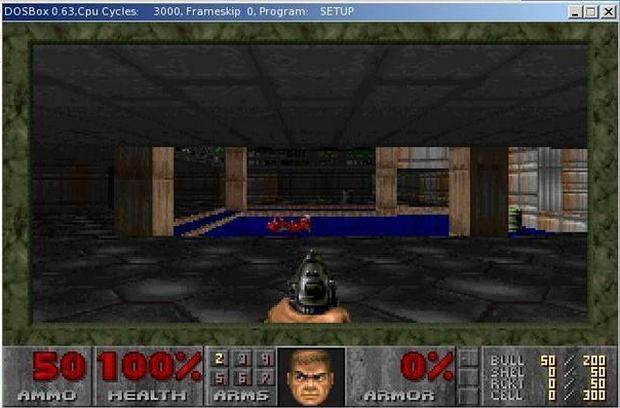 Doom 2 in DOSBox