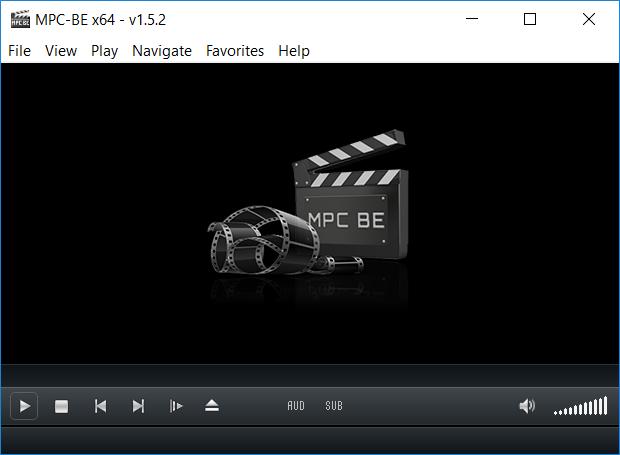 Media Player Classic - Black Edition 1.5.2