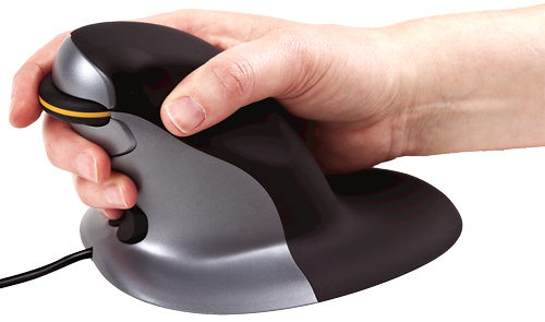 Fellowes Penguin Ambidextrous Vertical Mouse – Wired Small