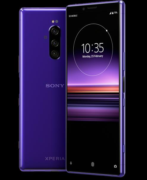 Sony Xperia 1 (bron: @evleaks)