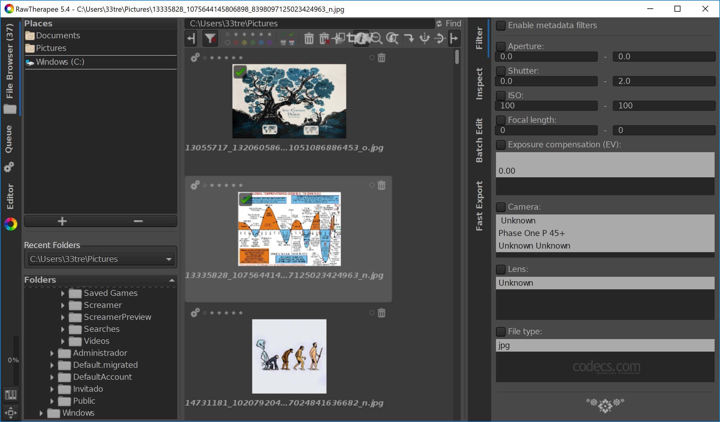 Software-update: RawTherapee 5 4 - Computer - Downloads
