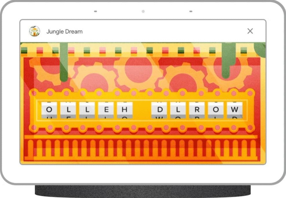 Jungle Dream game Interactive Canvas
