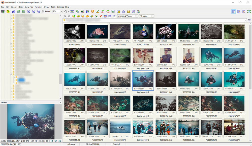 FastStone Image Viewer 7.3