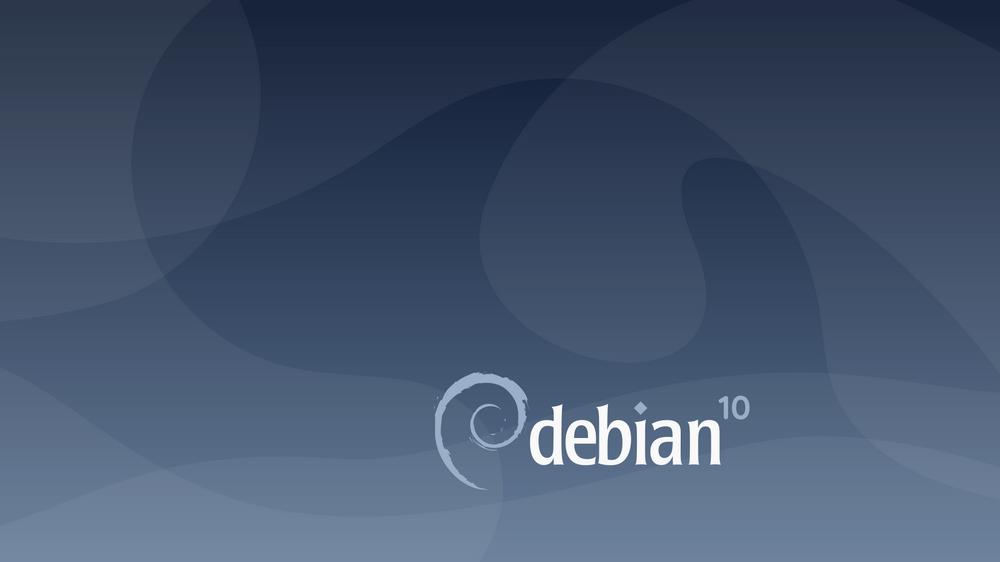 """Debian 10 """"buster"""" desktop"""