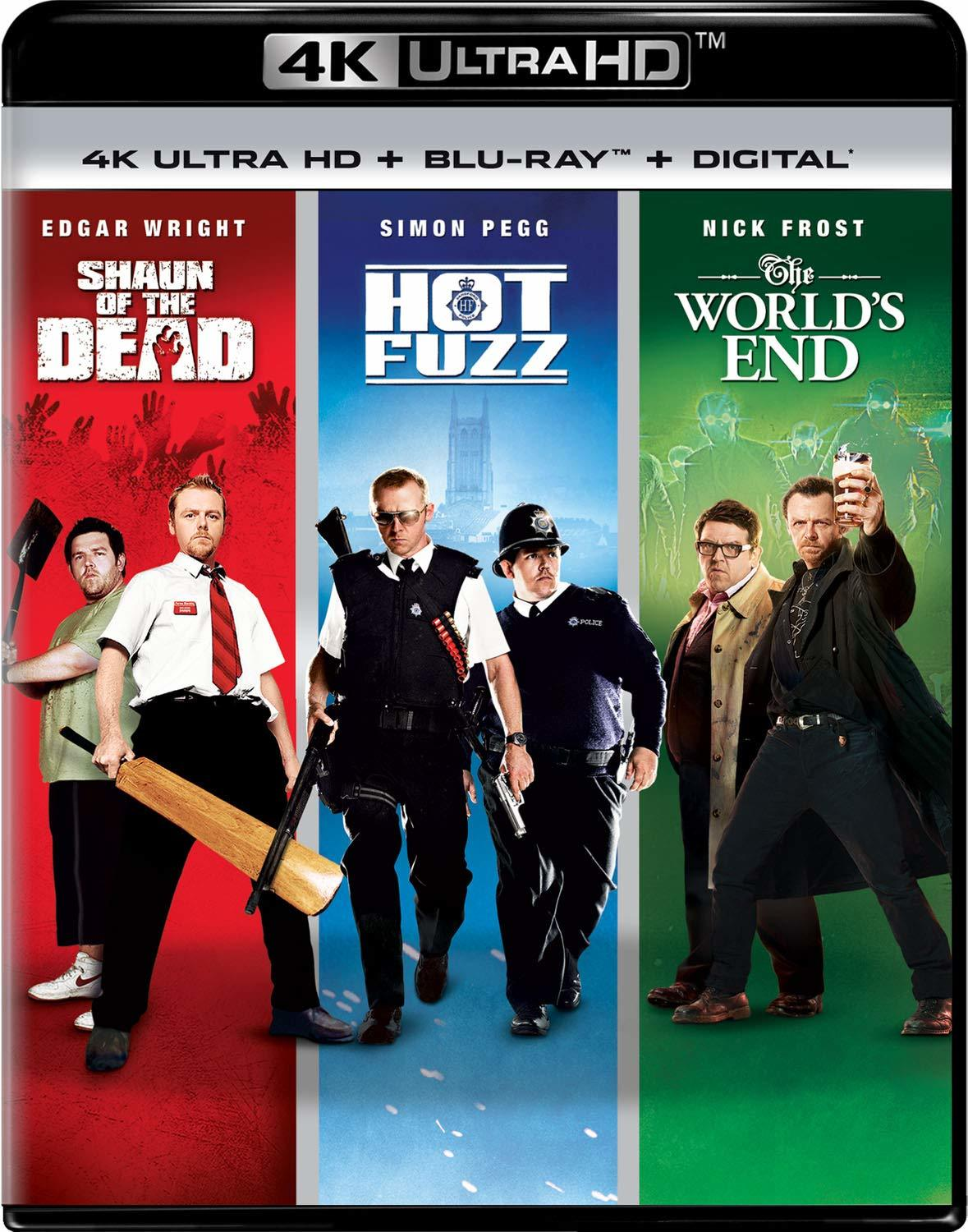 Cornetto Trilogy Simon Pegg
