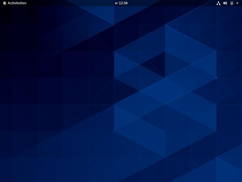 CentOS 8 desktop