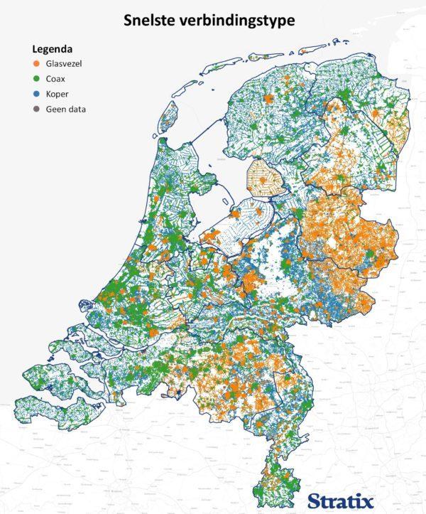 Glasvezel NL per type