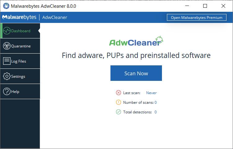 AdwCleaner 8.0