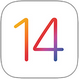 Logo Apple iOS 14 (79 piksel)
