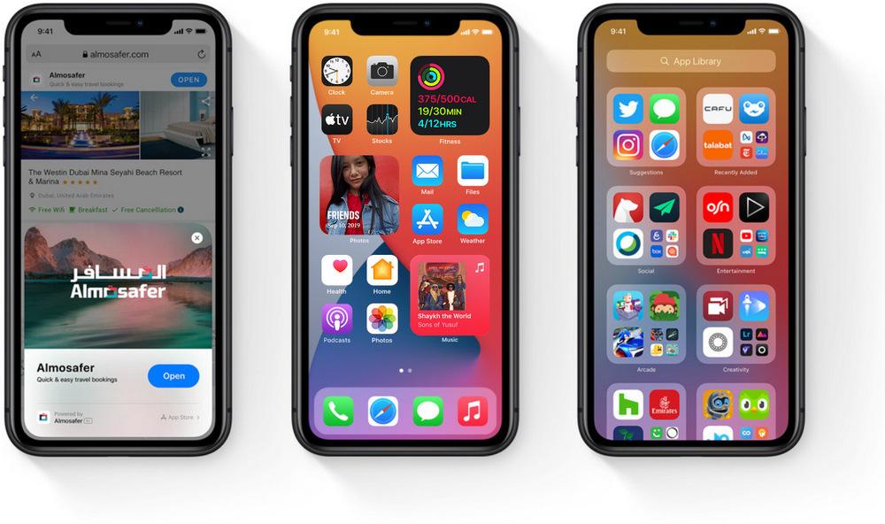 Apple iPhone memenuhi iOS 14