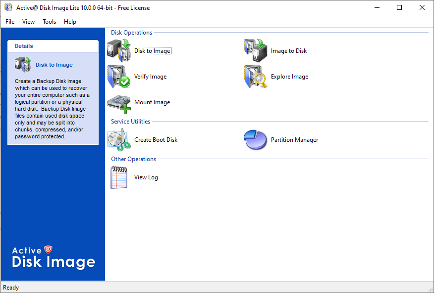 Active@ Disk Image