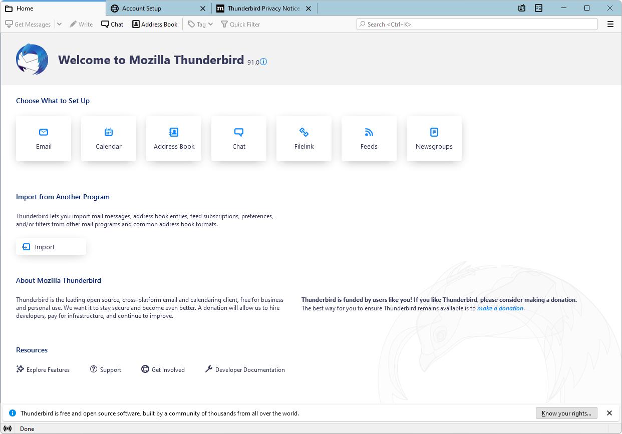 Mozilla Mozilla Thunderbird