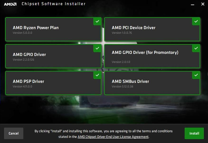 AMD Ryzen Chipset Drivers