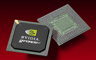 nVidia GeForce 256 chip