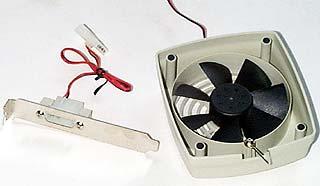 Just Cooler MC-100 monitor fan
