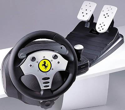 guillemot force feedback racing wheel:
