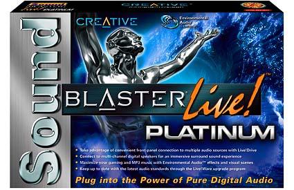 Creative Labs Soundblaster Live! Platinum