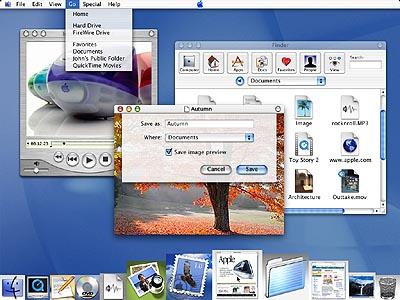 MacOS X screenshot