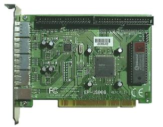 EPoX EP-USB66 UltraATA/66 Interface Card