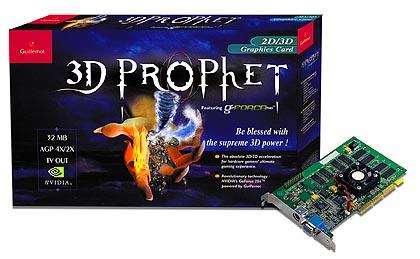 Guillemot 3D Prophet doos
