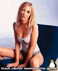 Linux babe #1