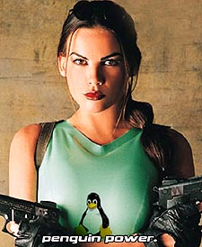 Linux babe #2