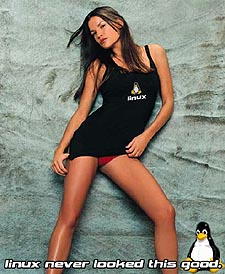 Linux babe #3