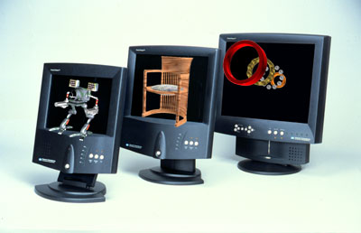 3D beeldschermpies