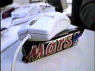 Muis gesignaleerd op MARS