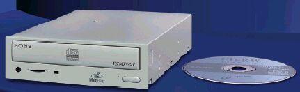 Sony CRX145E-RP 10x brander