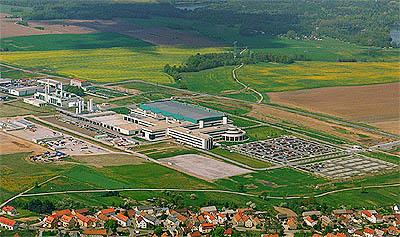 (CeBIT) AMD Fab30 Dresden (omgeving)