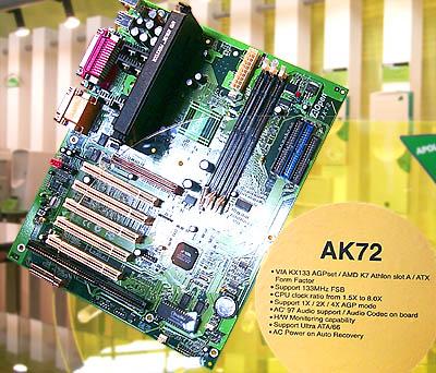 CeBIT 2000: Aopen AK72