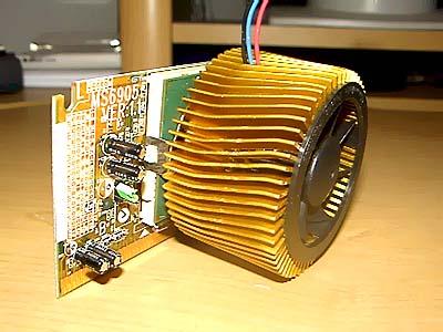 Thermaltake Gold Orb heatsink