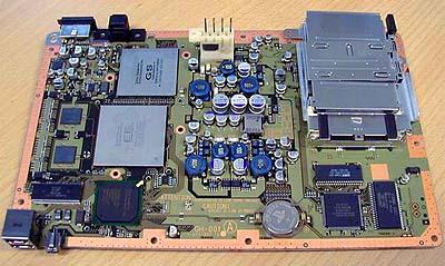 Playstation II moederplank