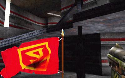 Unreal Tournanent GeForce anti-aliasing screenshot (on)