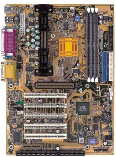 Gigabyte GA-7VX KX133 moederbord