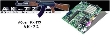 AOpen AK72 met AK-47S rifle